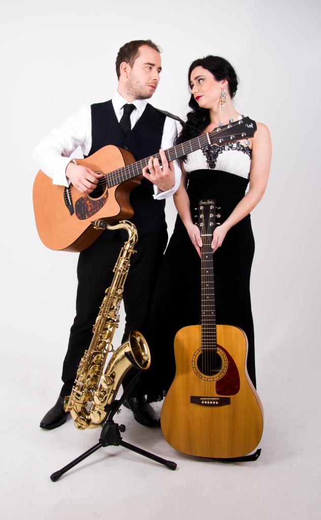 Double Malt Duo Guitars Saxophone